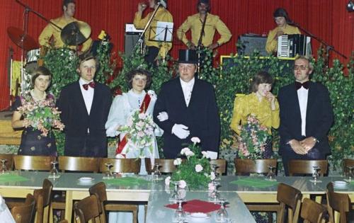1975, Königspaar Hubert Tenberge und Josefine Alfert